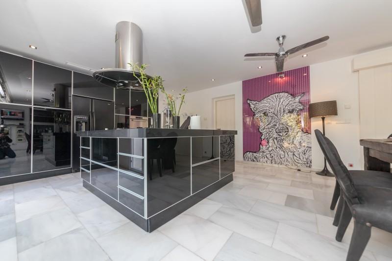Kitchen Casasola Villa-16