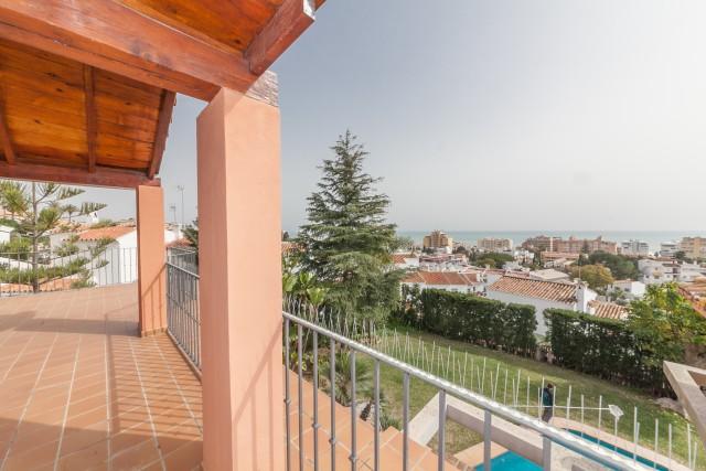 Sea view Luxury Villa Torremolinos Montemar Carihuela-14