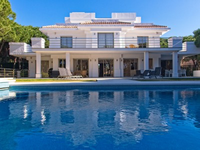 New build luxury villa at Hacienda Las Chapas, Marbella