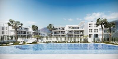 New Development of 2 and 3 bedroom apartments at Riverside, Benahavis