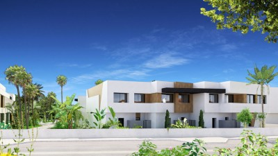 New Development of off plan town houses for sale in Nueva Andalucia, Marbella