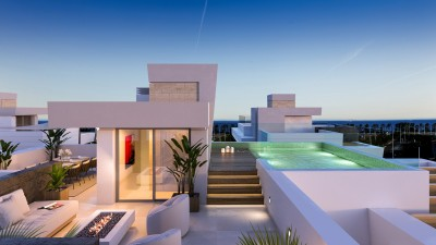 New development of off-plan  luxury villas for sale at San Pedro, Marbella