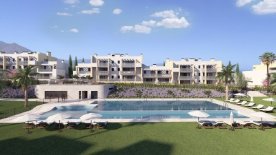 New development at Casares Costa - 2, 3 and 4 bedroom off plan apartments