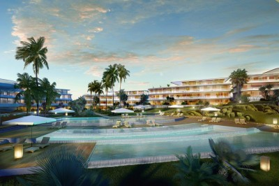 Estepona New development - Luxurious beachfront apartmnents complex