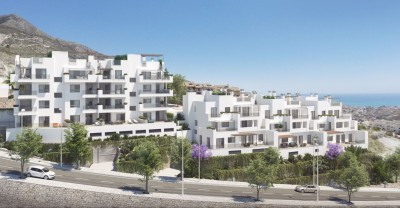 Benalmadena New Development - 2 & 3 bedroom apartments and semidetached townhouses