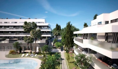 New Development Mijas Costa - 2, 3 & 4 bedroom apartments and penthouses at Cala de Mjias