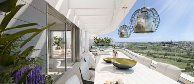 New Development at Estepona - 1, 2, & 3 bedroom apartments and penthouses at Valle Romano Golf