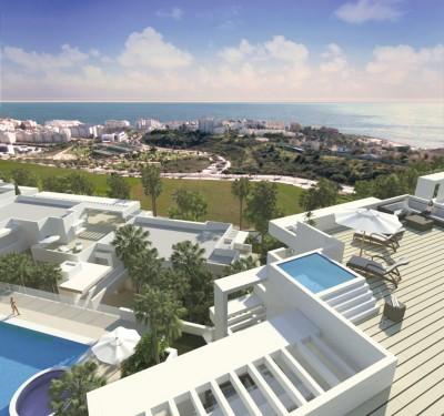 New Development of luxury apartments close to the Estepona Marina