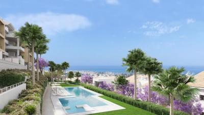 New development of apartments for sale at Benalmadena