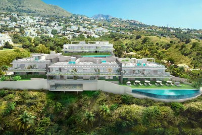 New boutique development of 3 bedroom luxury apartments at Torremar, Benalmadena