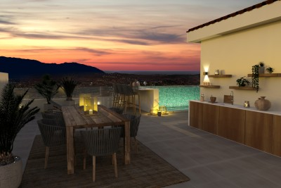 Boutique development 3 and 4 bedroom townhouses and semi detached villas at La Mairena