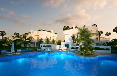 New build, 3 bedroom, 2.5 bathroom townhouses in Calahonda, Mijas Costa