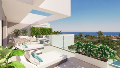 New build 2 and 3 bedroom apartments and penthouses for sale at La Duquesa, Manilva