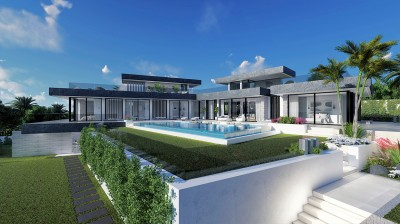 Off Plan luxury 4 bedroom single level villa at La Alqueria, Benahavis