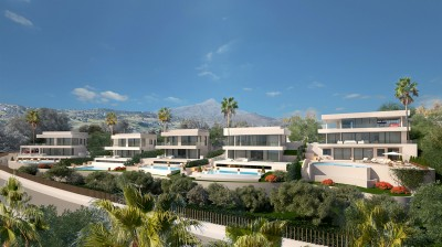 Stunning new build, 4 bedroom, luxury villa in Nueva Andalucia