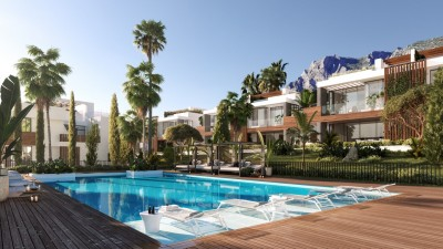 New build luxury 4 bedroom villas at Sierra Blanca, Marbella