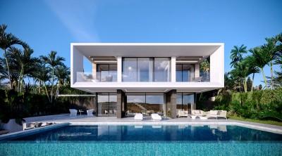 New development of 8 contemporary style villas at Valle Romano, Estepona Golf