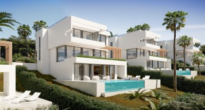 New development of detached villas at La Cala Golf