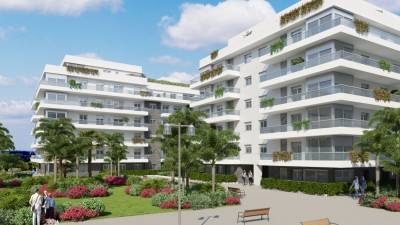 New development of 2 and 3 bedroom starter apartments at La Campana, Marbella