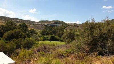 Front line golf building plot for sale at Valle Romano Golf, Estepona