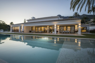 Expertly reformed Marbella villa for sale at Sierra Blanca