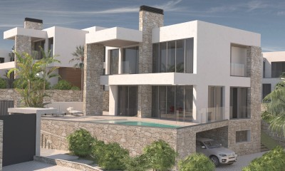New build luxury 4 and 5 bedroom villas close to the Beach at La Cala de Mijas