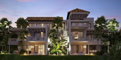 New Development - Luxury apartments and semi detached villas for sale at Marbell Club Hills
