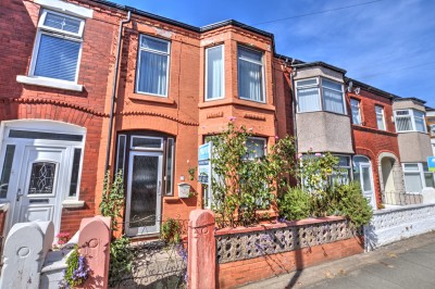 49 Milton Road, Waterloo.  Terraced house convenient for shops, schools and transport links.