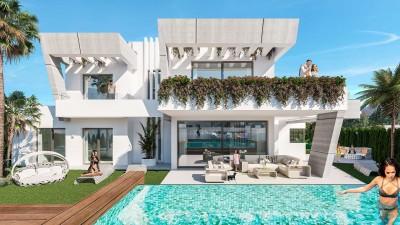 Banus Bay - New build 3 and 4 bedroom villas close to Puerto Banus