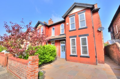 Cambridge Avenue, Crosby - a spacious, beautifully presented character family semi detached home, close to schools and shops, long rear garden, parking.