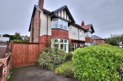 Sherwood Road, Blundellsands, - beautifully presented character semi detached family home,  3 bedrooms plus loftroom, mature rear garden, driveway.