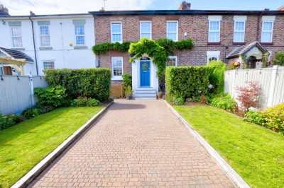 Vale Road, Crosby - beautiful character terraced family home, built circa 1840, stunningly presented, in the heart of Crosby Village, driveway.