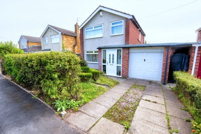 Lydiate Lane, Thornton, detached house in a popular residential location, sold with no ongoing chain, sunny South facing rear garden, driveway & garage.