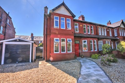 College Road North, Blundellsands, spacious double fronted 4 bedroom Edwardian character semi detached house, highly sought after residential location.