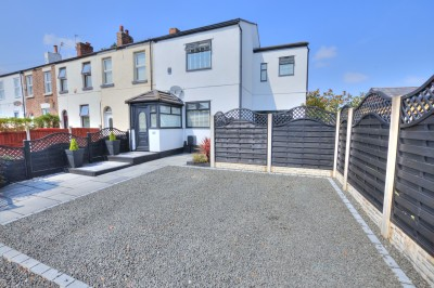 Green Lane, Thornton - deceptively spacious character end terraced house, close to shops, well presented, parking for 2 cars.