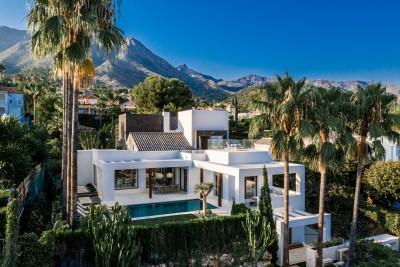 Breathtaking newly built 4 bedroom luxury villa for sale in Sierra Blanca, Marbella