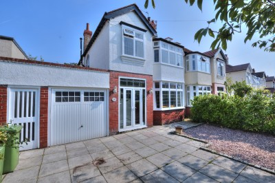 Elmwood Avenue, Crosby - lovely semi detached family home, excellent school catchment area, long, mature rear garden, driveway and garage.