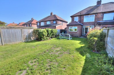 Lyndhurst Road, Crosby - semi detached family house, quiet residential location, close to local shops and schools, long rear garage, driveway and garage.