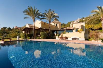 Traditional villa for sale in La Zagaleta, the Marbella area's most exclusive location.