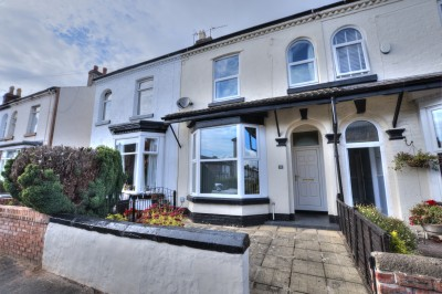 York Road, Crosby, well presented character terraced house, short stroll to Crosby Village, excellent school catchment area.