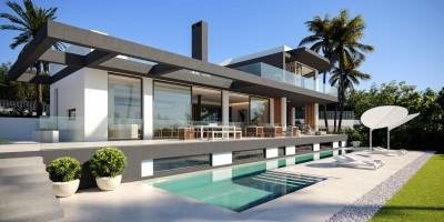 Turn-key villa project at Las Lomas de Marbella on the Golden Mile, Marbella