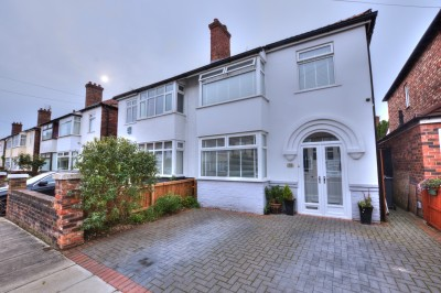 Balmoral Avenue, Crosby - a beautifully presented extended family home, quiet cul-de-sac, close to schools, excellent modern kitchen/family room, lovely rear garden, driveway.
