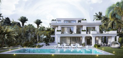 New development of Luxury detached villas in Las Lomas Marbella Club, the heart of the Golden Mile