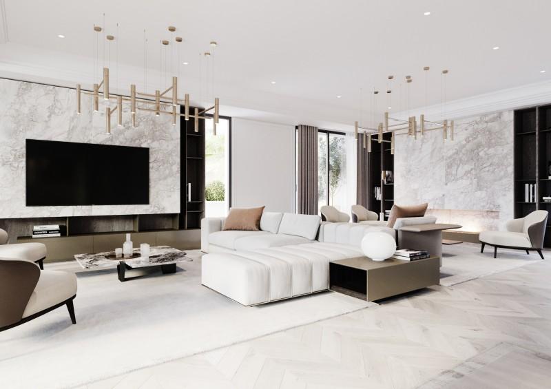 Lomas Villas render Interior 1