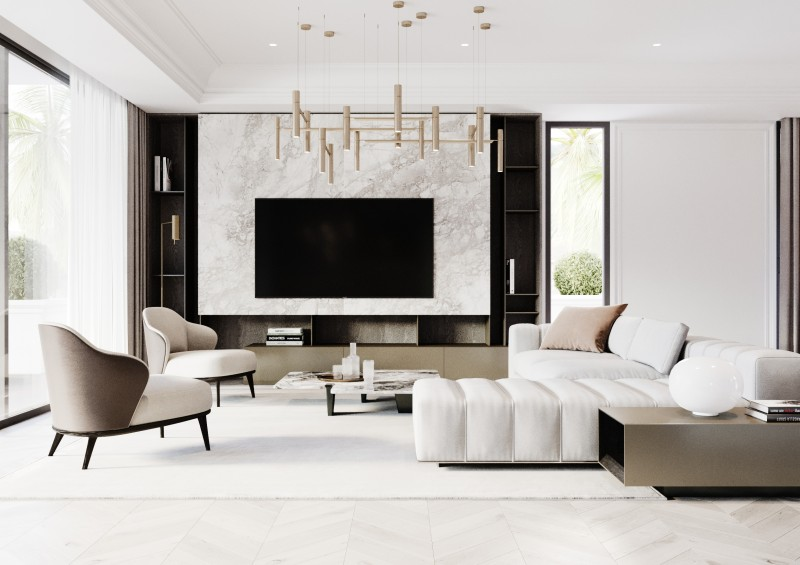 Lomas Villas render Interior 2