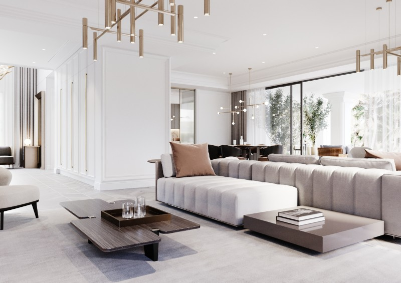 Lomas Villas render Interior 3