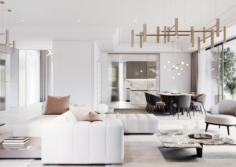 Lomas Villas render Interior 4
