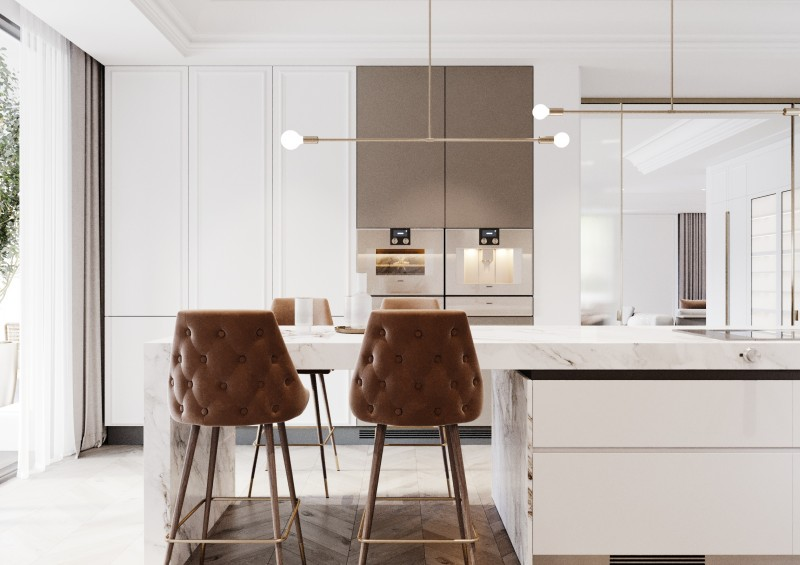 Lomas Villas render Interior 9