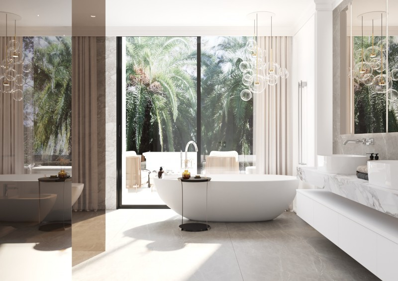 Lomas Villas render Interior 16