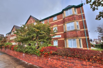 Oxford Court, Oxford Road, Waterloo - purpose built first floor flat within a popular development, close to the sea front, neutrally decorated, parking, no chain.